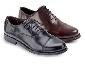 Buy one pair get another free on Oxford Men's Real Leather shoes £39.99 (Clifford James)