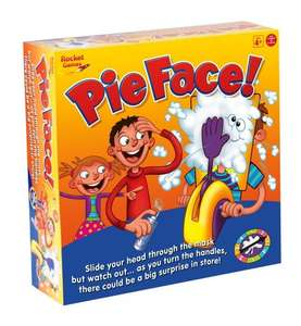 Pie Face Game £14.99 (prime) £18.29 (non prime) @ Amazon