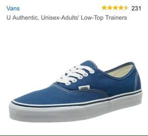 Mens vans trainers £28 various colours and styles @ Amazon