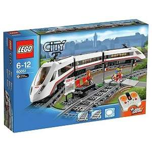 Lego City 60051 High Speed Passenger Train, £62.99 Argos