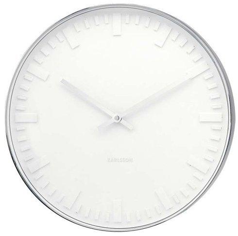 Karlsson Mr. White Station Wall Clock £25.99 + P&P £30.98 @ Wayfair