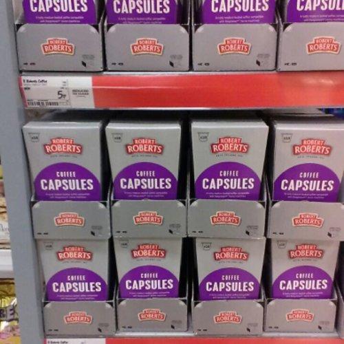 Robert Roberts coffee capsules RTC 5p @ Asda (N.I.)