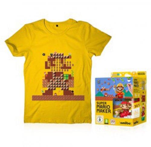 SUPER MARIO MAKER + MARIO CLASSIC COLOUR AMIIBO + T-SHIRT £49.99 @ Nintendo