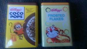 Free Kellogg's Cereal Tin With Any Kellogg's Cereal £1.95 @ Iceland