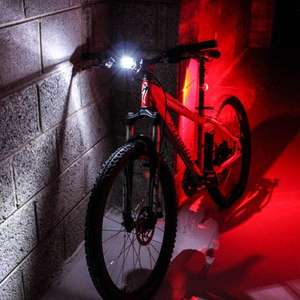 7dayshop HQ 3 Mode Silicone LED Front and Rear Bike Light Set with batteries £2.79 Sold and dispatched by 7dayshop via Amazon