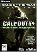 Physical copy of Call of Duty 4: Modern Warfare - Game of the Year Edition (PC) £5.29 (With Prime) £7.32 (Without)  Sold by Digitalville UK and Fulfilled by Amazon