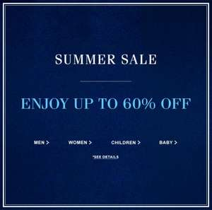Quick! Upto 60% off Sale @ Ralph Lauren + Get another 40% off all sale prices using code! Plus atm you'll get FREE delivery which is usually £9.95!