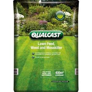 Qualcast Feed, Weed and Moss Killer - 400sqm £9.93 @ Homebase