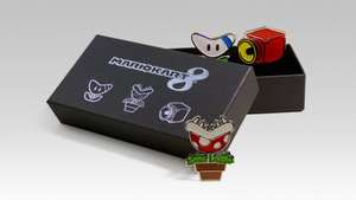 Club Nintendo - Returning merchandise (Mario Golf Balls, MK8 T-Shirt/Badge, Majora Mask Light &  Link Between Worlds CD)
