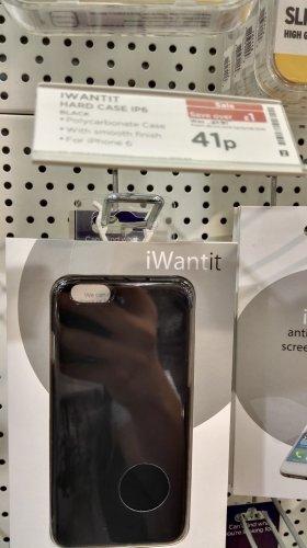 IPhone 6 basic hard case £0.41p @ PC World (Lakeside)