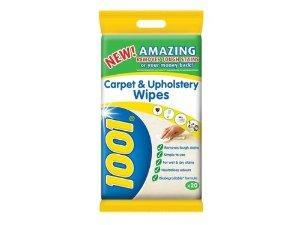 1001 Carpet&Upholstery Wipes 50p @ Asda
