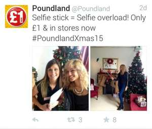 Selfie Sticks £1.00 @ Poundland