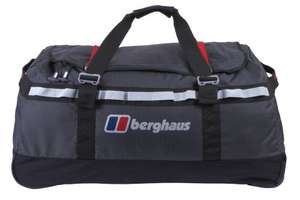 Berghaus Mule 2 100 Litre Wheeled Holdall £44.83 Lowest Ever at Amazon