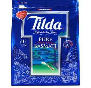 Tilda Pure Original Basmati Rice 4kg (reduced from £10 to £6) at Tesco