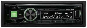 Ebay. Alpine CDE-173BT £50 Car Stereo Bluetooth iPod iPhone MP3 AUX Detachable Faceplate @ ebay / Halfords