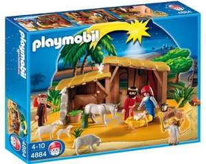 Playmobil Nativity Manger and Stable (4884) £6.16 toys r us - Reserve and Collect Only (Costs around £27 anywhere else)