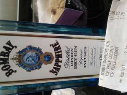 Bombay sapphire 70c £17.50 at Waitrose