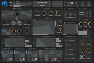 Helm synthesizer LV2/VST/AU/AAX plugin or Standalone @ tytel.org