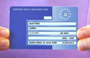 FREE EHIC : European Health Insurance Card