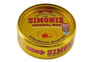 Simoniz Original Car Wax 150g - £1.50 Instore @ Tesco