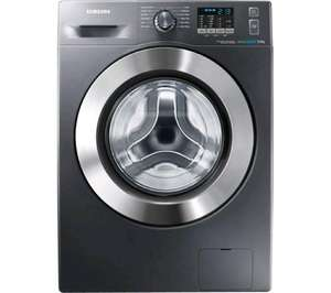 SAMSUNG ecobubble™ WF80F5E2W4X Washing Machine - Graphite @ Currys - £369