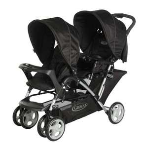 Graco Stadium Duo Oxford Double Pushchair With Apron for £69.99 Delivered Online & Instore @ SMYTHS TOYS