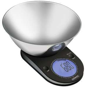Duronic KS5000 Large Digital Display 5KG Kitchen Scales with 24.5cm Diameter Stainless Steel Mixing Bowl and 2 Years FREE Warranty £17.99 (Prime) £21.29 (non Prime) Sold by DURONIC and Fulfilled by Amazon.