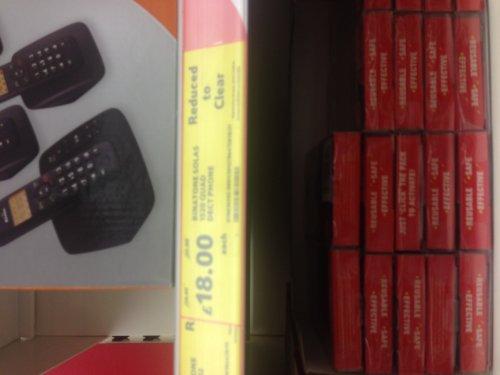 Binatone 1520 Quad Phone - £18 @ Tesco (Bury)