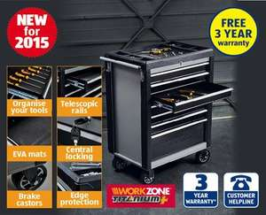 Aldi Heavy Duty Tool Cabinet, instore Sunday 12th July, 3 Year Warranty, £129.99