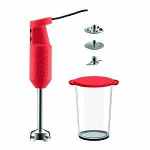 Bodum Bistro Red Hand Blender £12 Tesco Direct