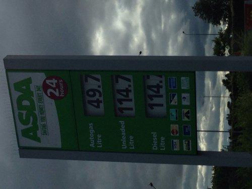 LPG Autogas £0.49.7 @ ASDA Dundee
