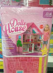 Pop up dolls house £14.99 in Home Bargains