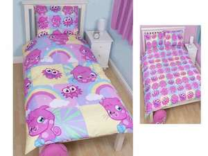 Moshi Monsters Single Duvet Sets £4.99 each or 2 for £6 @ What!