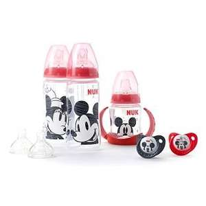 NUK Mickey and Minnie Baby Feeding Starter Set Bundle Now £9.99 + Free delivery @ Argos
