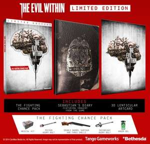 Limited edition the Evil Within for PC £8 at GAME