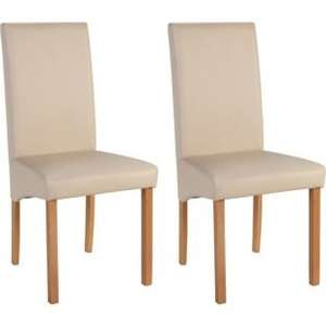 8 Heart of House cream skirted dining Chairs delivered £140.92 @ Argos
