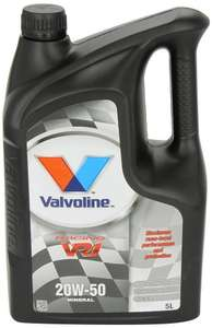 Valvoline VR1 20w/50 Racing Oil 5L ~ Only £24.56 @ Amazon // Free Delivery