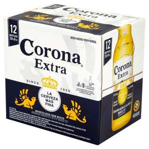 Corona 12 33cl bottles £9 - 75p a bottle!!! at Morrisons online and in store