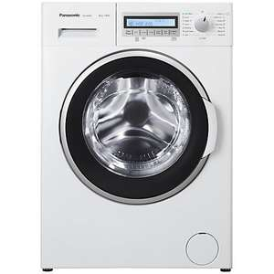 John Lewis Panasonic NA-148VB5W Freestanding Washing Machine, 8kg Load, A+++ Energy Rating, 1400rpm Spin £319.99
