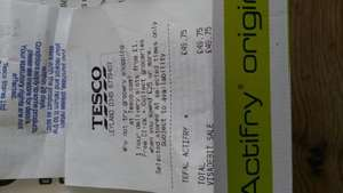 TEFAL ACTIFRY ORIGINAL 1KG £49.75 @ TESCO instore