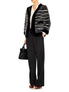 Marc Jacobs striped coat. £3100 - now - £950 @ Matches Fashion