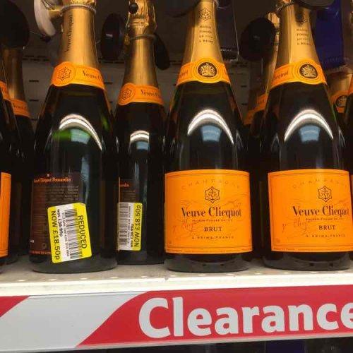 Veuve Clicquot Brut £18.50 @ Tesco instore