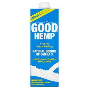 Good Hemp Longlife Milk Alternative 1L £1 @ TESCO (instore / online)