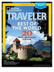 National Geographic Traveller digital edition, 1 year subscription (8 issues) £6.40