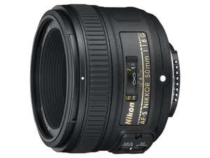 Nikon 50mm 1.8g lens (used-very good) £105.20 Amazon warehouse deals