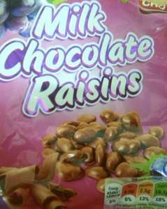 Milk Chocolate Raisins 200g Bag Now 72p @ Lidl