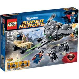 Lego DC Super Heroes Superman: Battle of Smallville 76003 £20 (free c&c) @ Tesco Direct