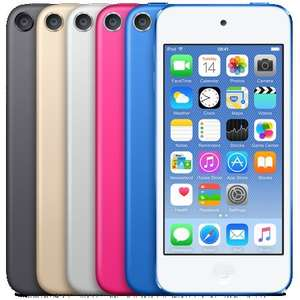 New Apple iPod Touch with A8 cpu from iPhone 6 and Wireless AC £159 @ Apple