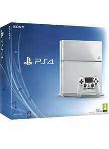 Sony PlayStation 4 Console - Glacier White on PlayStation 4 - £259.99- Simply Games