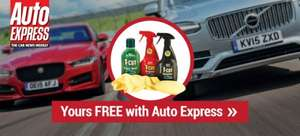 £1 for 6 issues of auto express and free t cut set! (or toolkit it seems)
